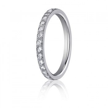 14kw Diamond Eternity Band 2mm