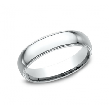 BENCHMARK Mens Platinum Wedding Band LCF350PT