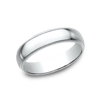 BENCHMARK Mens Platinum Wedding Band 350PT