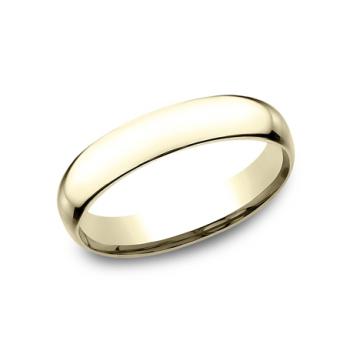 CLASSIC Mens Yellow Gold Wedding Band SLCF140Y