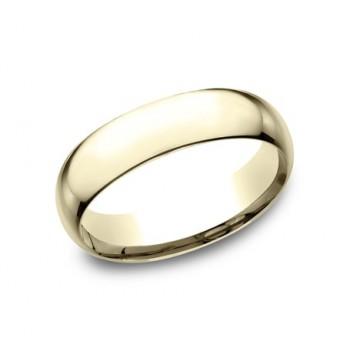 CLASSIC Mens Yellow Gold Wedding Band SLCF160Y