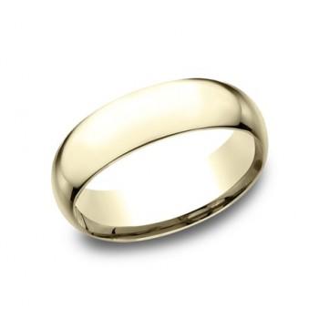 CLASSIC Mens Yellow Gold Wedding Band SLCF170Y