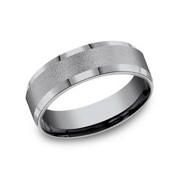 FORGE Mens Tantalum Wedding Band CF67418GTA