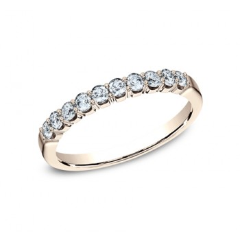 BENCHMARK Ladies Rose Gold Wedding Band 5925344R