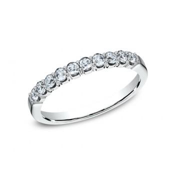 BENCHMARK Ladies 14k White Gold Wedding Band 5925344W