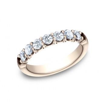 BENCHMARK Ladies Rose Gold Wedding Band 5935645R