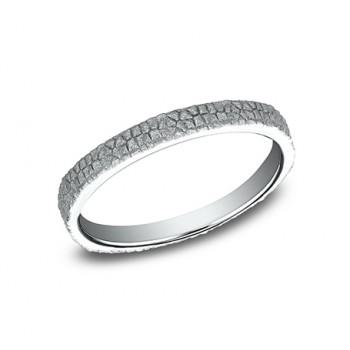 BENCHMARK Ladies 14k White Gold Wedding Band 8425687W