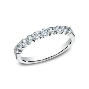 BENCHMARK Ladies 14k White Gold Wedding Band 5538215W