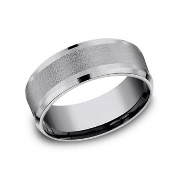 FORGE Mens Tantalum Wedding Band CF128034GTA