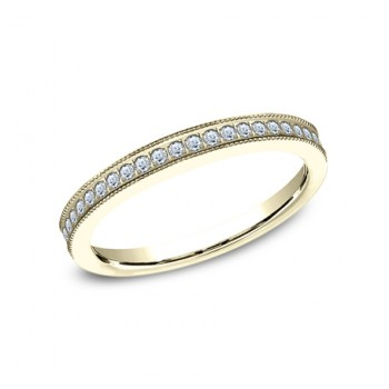 BENCHMARK Ladies 14k Yellow Gold Wedding Band 5425730Y