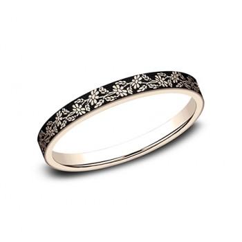 BENCHMARK Ladies 14k Rose Gold Wedding Band BP8425685R