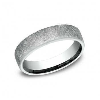 BENCHMARK Mens Palladium Wedding Band CF755585PD