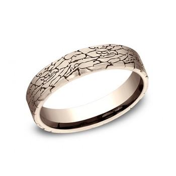BENCHMARK Ladies 14k Rose Gold Wedding Band CF845374R