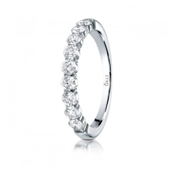 Diamond Shared Prong Band .72 carat total weight