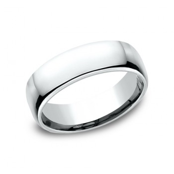 BENCHMARK Mens Palladium Wedding Band EUCF165PD