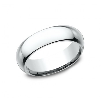 BENCHMARK Mens Palladium Wedding Band HDCF160PD