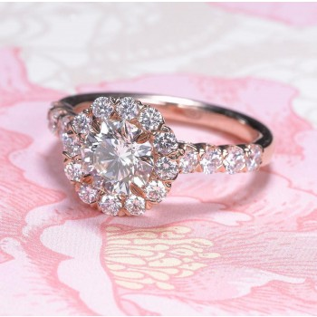 L'amour Diamond Ring 1.81 carats total weight