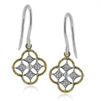 18k Gold Two-Tone LE4560 Earring