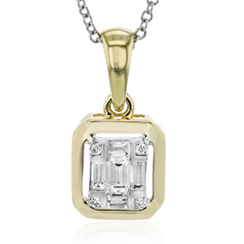 18K GOLD TWO-TONE LP4804 PENDANT
