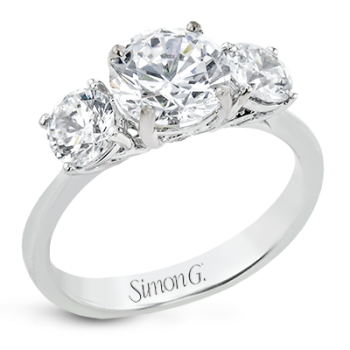 FLOURISH ENGAGEMENT RING LR2843