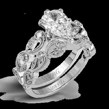 TRELLIS WEDDING SET TR473-PR