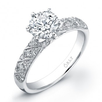 Round Brilliant Engagement Ring